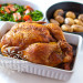 Roasted Chicken with Advieh