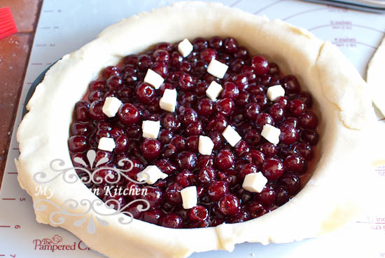Sour Cherry Pie-8