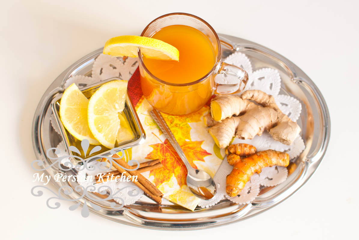 Turmeric, Cinnamon, & Ginger Tea