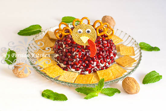 Pomegranate Cheese Ball-13