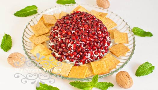 Pomegranate Cheese Ball