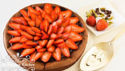 Flourless Chocolate Cardamom Cake