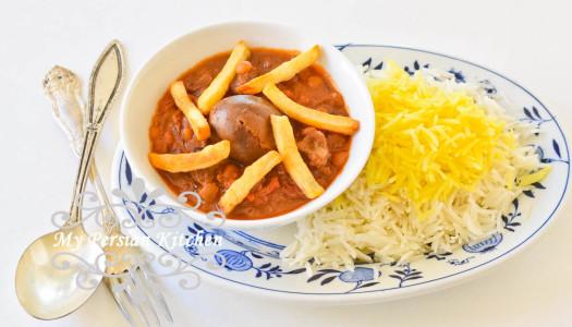 Slow Cooker Khoresht Ghaimeh