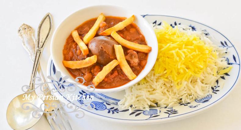 Slow Cooker Ghaimeh