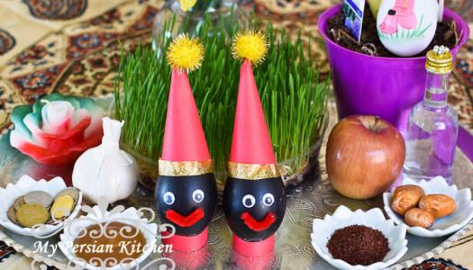 Haji Firouz Decorated Eggs