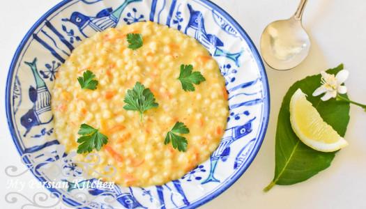 Soupeh Jo ~ Persian Barley Soup