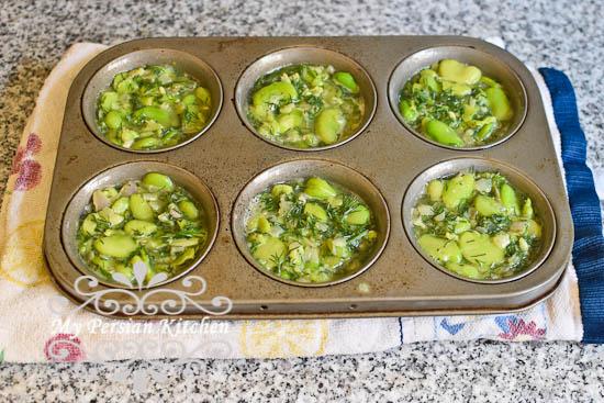Fava Bean Kuku-5