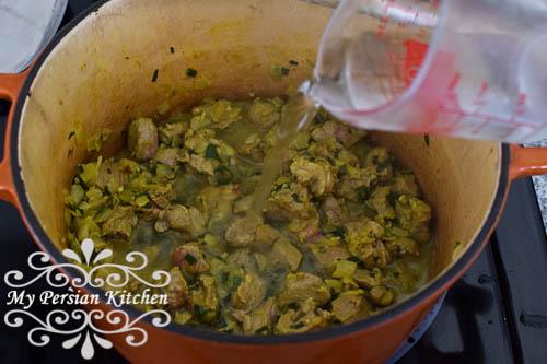 Fava Bean & Artichoke Khoresht-3