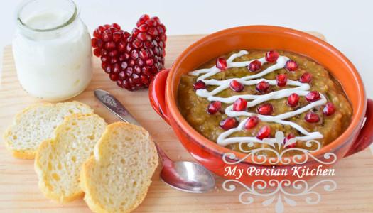 Eggplant & Pomegranate Borani