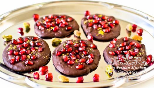 Home my persian kitchen pomegranate pistachio chocolate bark forumfinder Choice Image